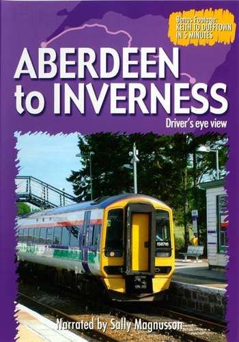 Clickable image taking you to the Aberdeen to Inverness Driver's Eye View