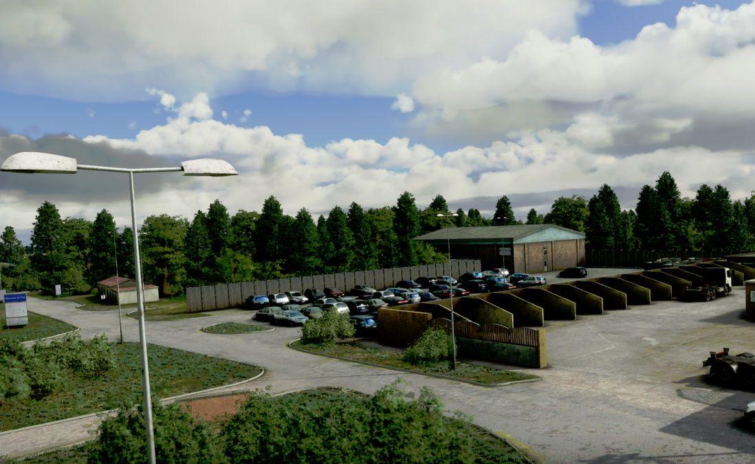 MSFS EGTB Wycombe Air Park