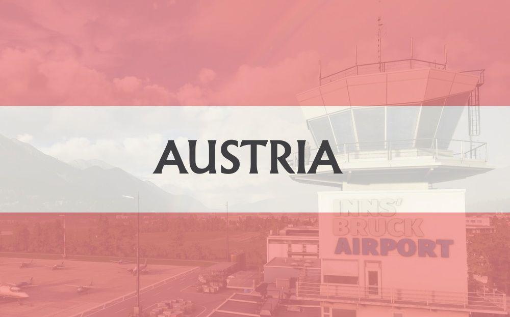 MSFS Austria Airports