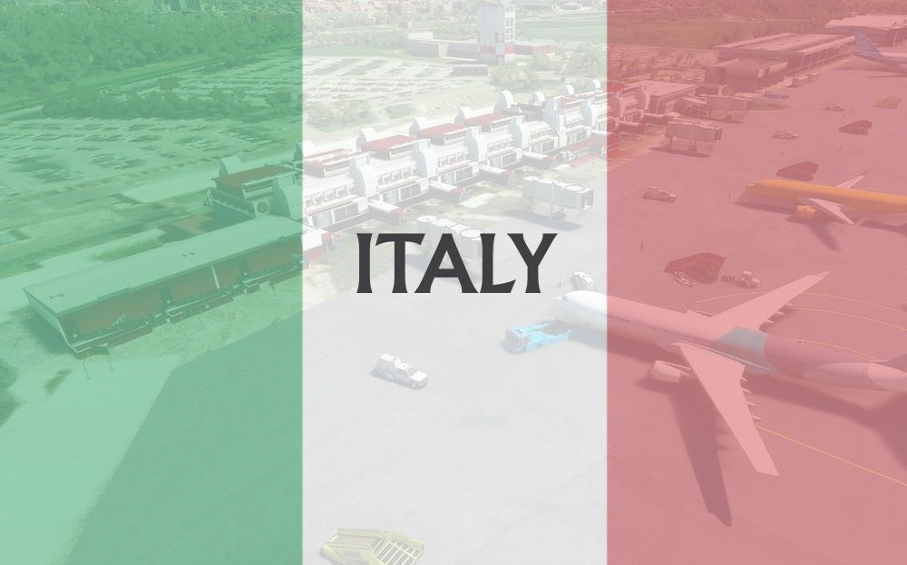 MSFS Italy Airports