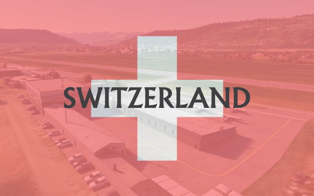 MSFS Switzerland Airports