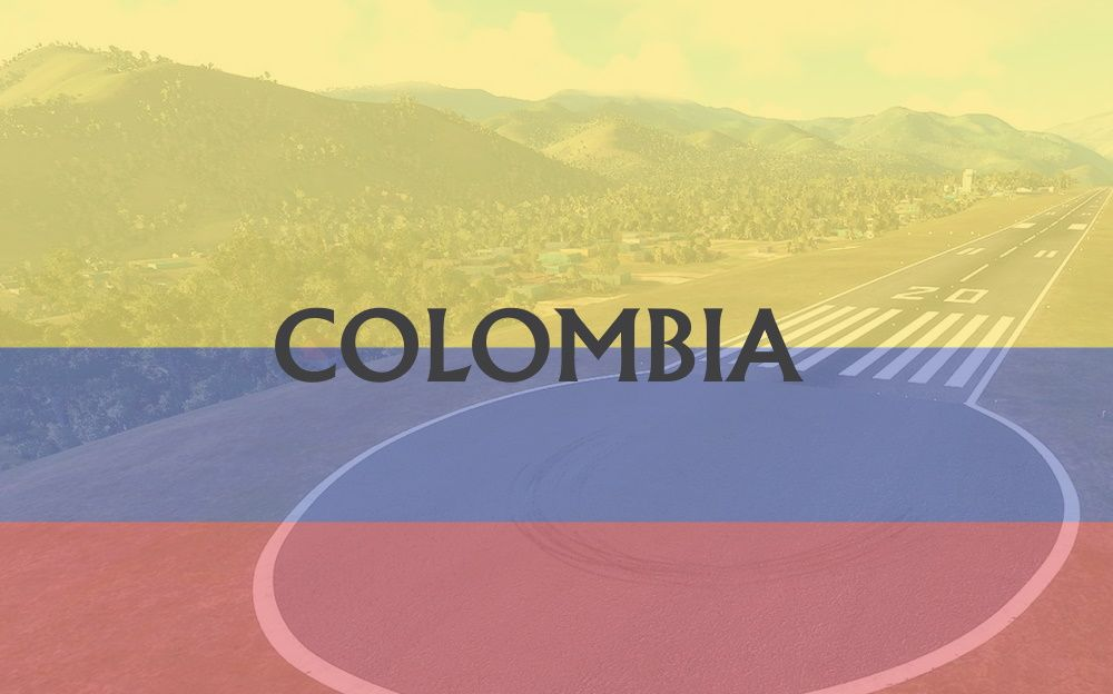 MSFS Colombia Airports