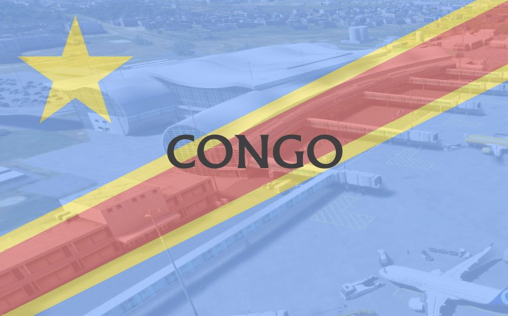 MSFS Congo Airports