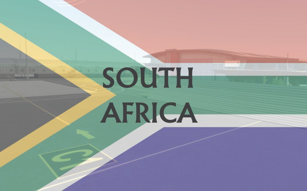 MSFS South Africa Airports