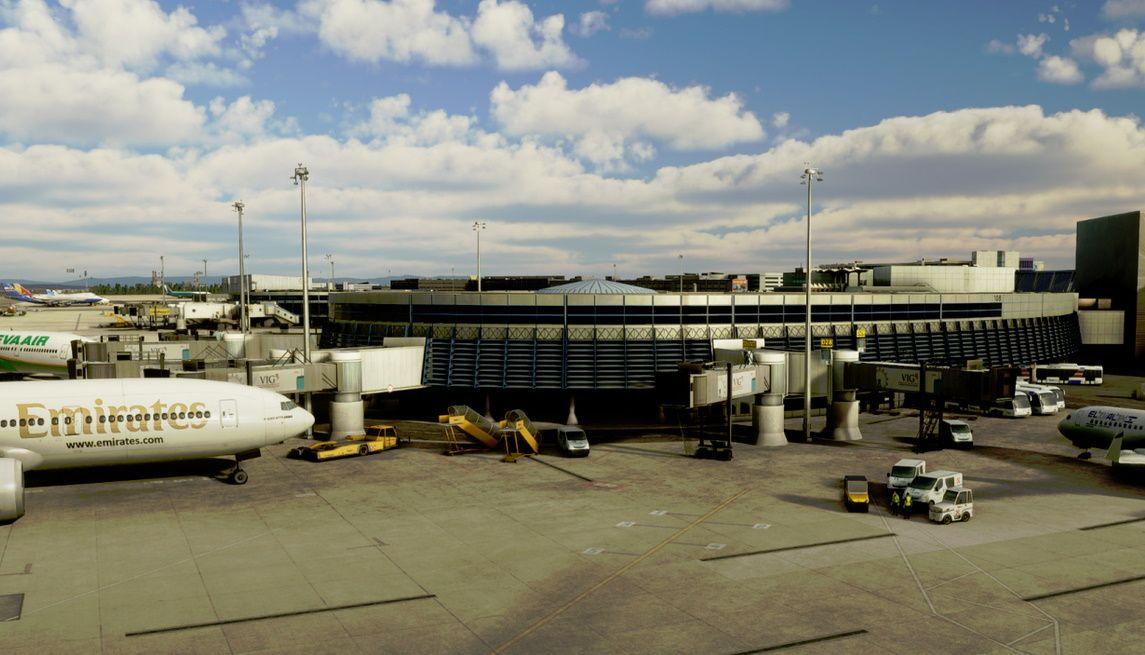 MSFS LOWW Vienna International