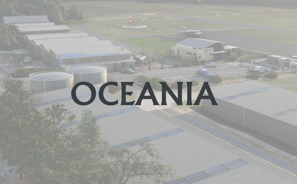 MSFS Oceania Airports