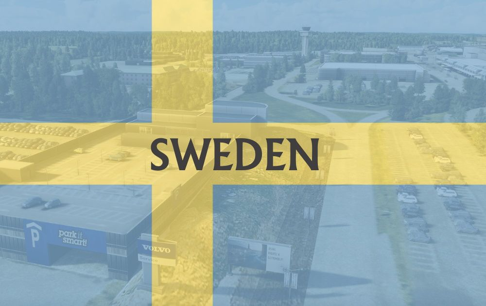 MSFS Sweden Airports