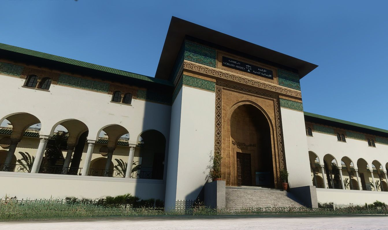 MSFS Casablanca Landmarks