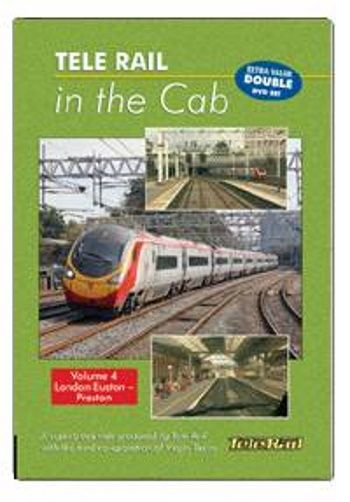 Clickable image taking you to the Telerail in the Cab - Volume 4 - London Euston to Preston Driver's Eye View