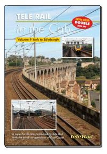 Clickable image taking you to the Telerail in the Cab - Volume 9 - York to Edinburgh Driver's Eye View