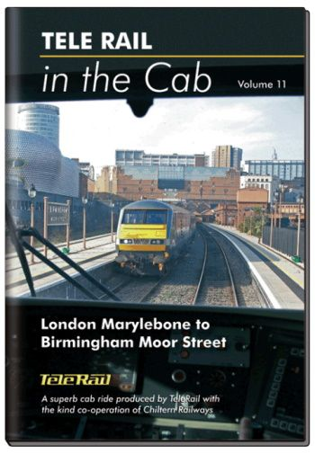 Clickable image taking you to the Telerail in the Cab - Volume 11 - London Marylebone to Birmingham Moor Street Driver's Eye View