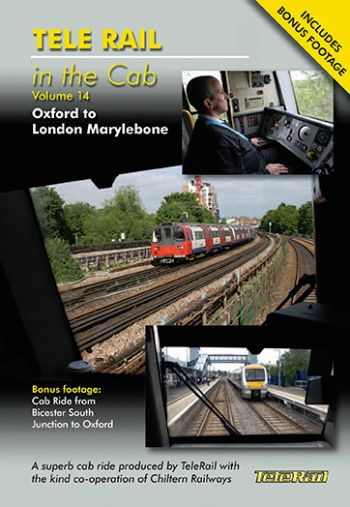 Clickable image taking you to the Telerail in the Cab - Volume 14 - Oxford to London Marylebone Driver's Eye View