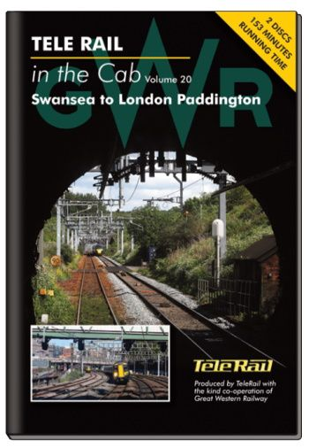 Clickable image taking you to the Telerail in the Cab - Volume 20 - Swansea to London Paddington Driver's Eye View