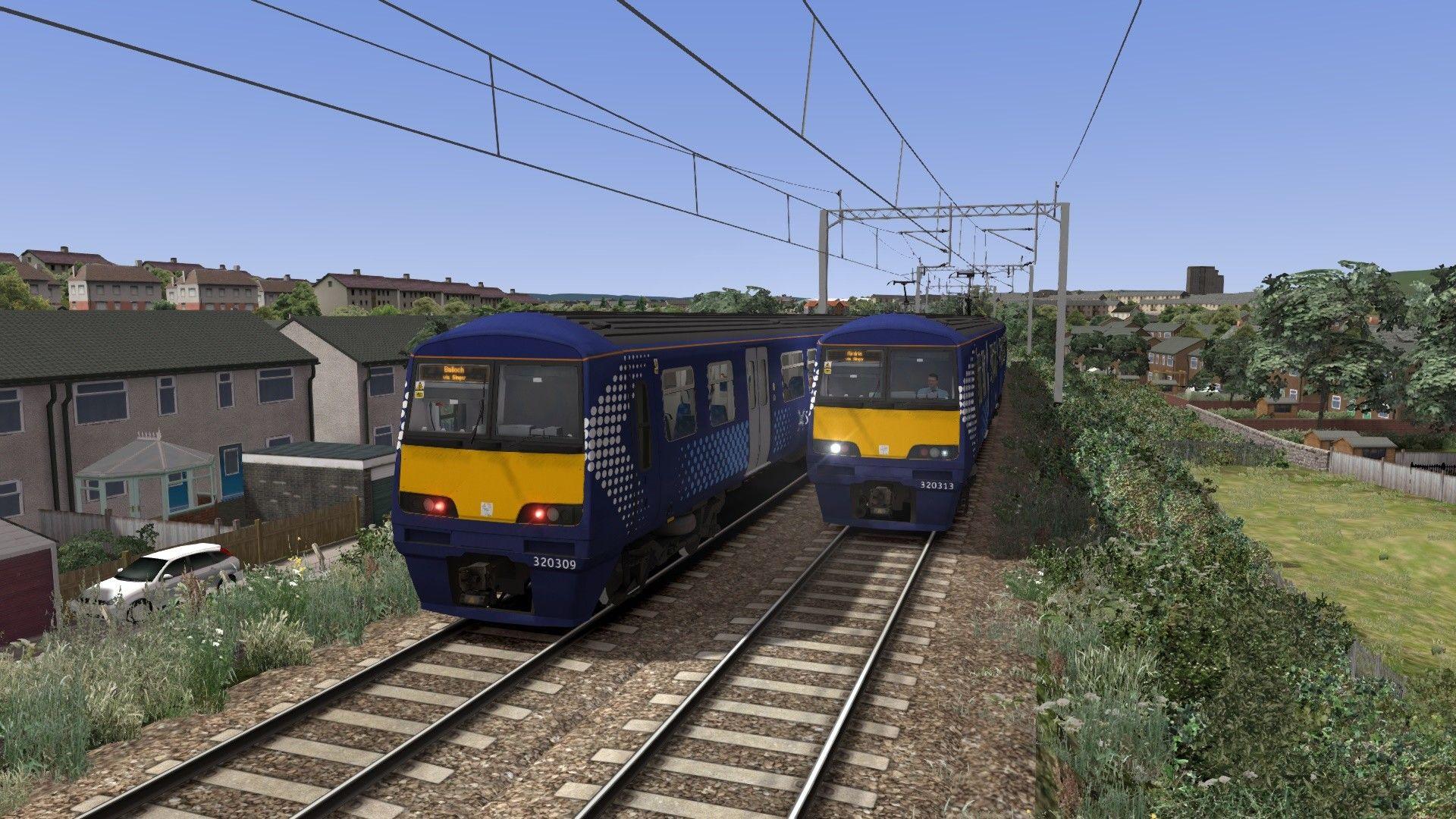Train Simulator Suburban  Glasgow Northwest