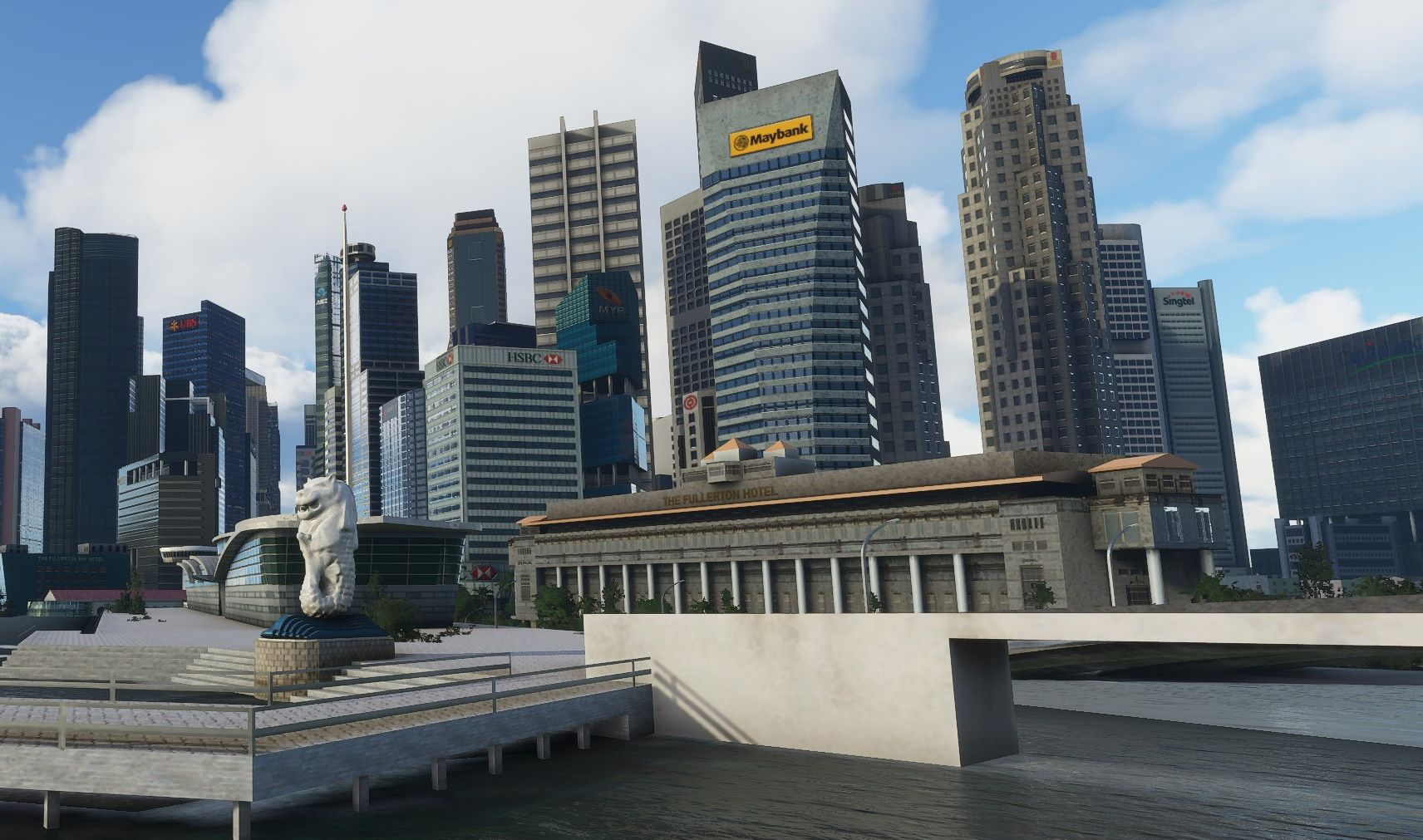 MSFS Singapore Downtown