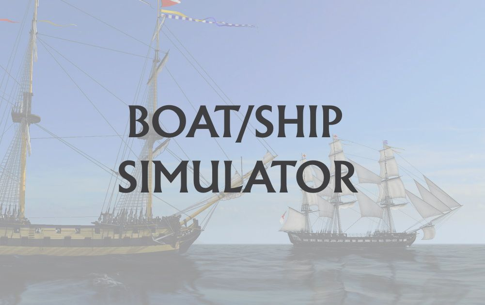 Boat and Ship Simulators