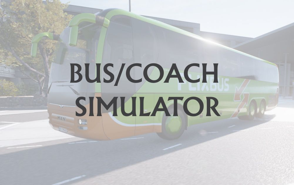 Bus and Coach Simulators