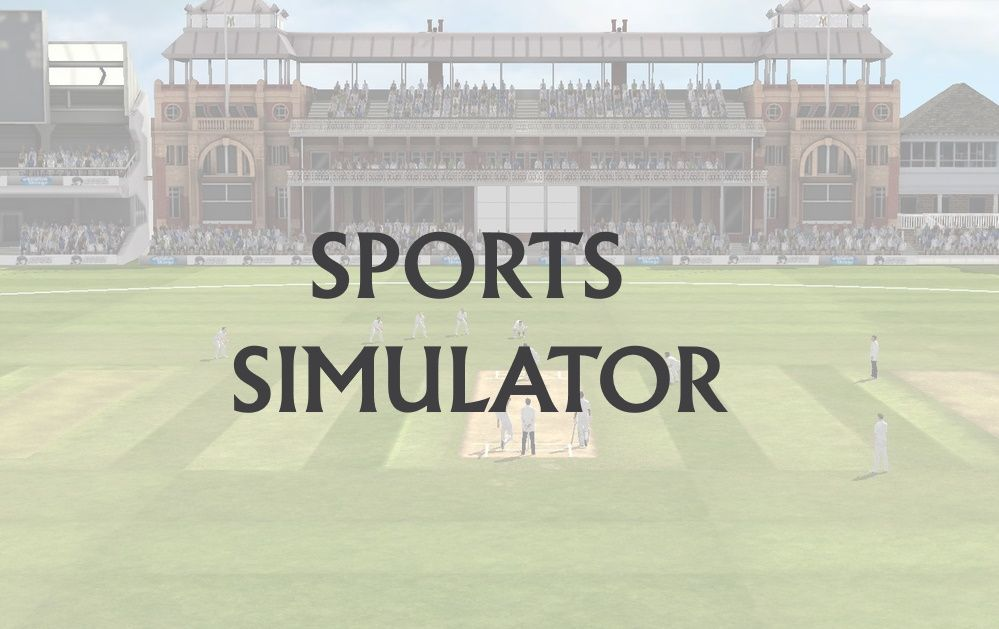 Sports Simulators