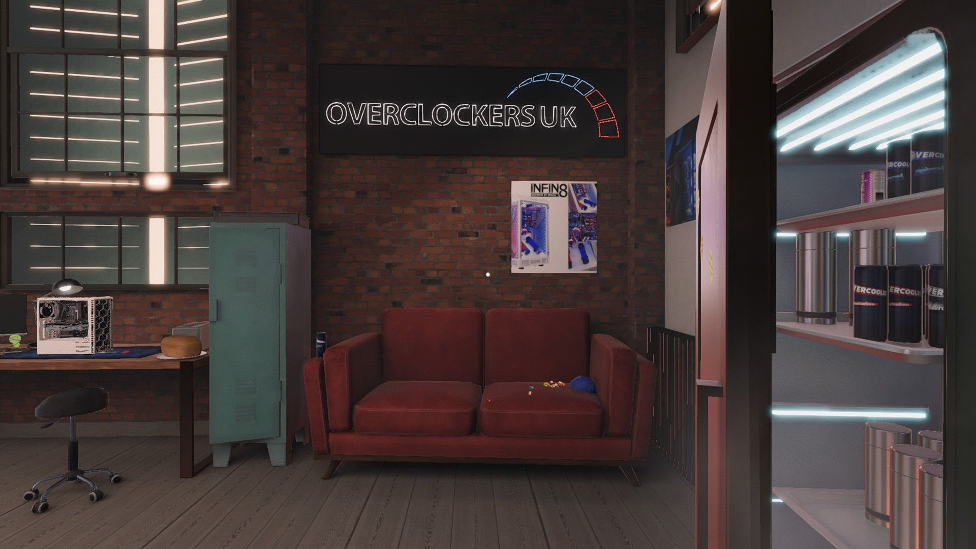 PC Building Simulator - Overclockers UK Workshop