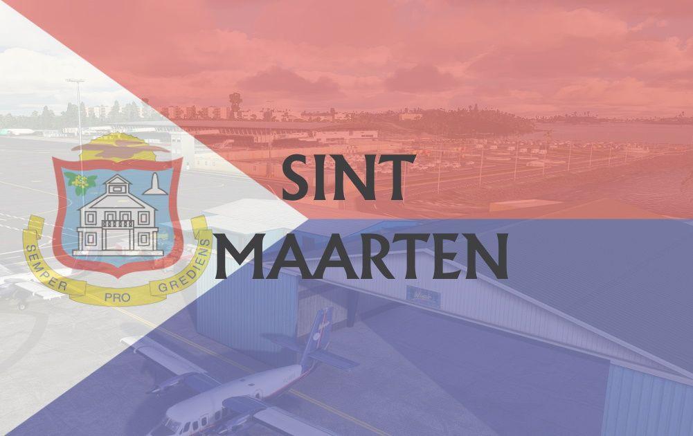 MSFS Sint Maarten Airports