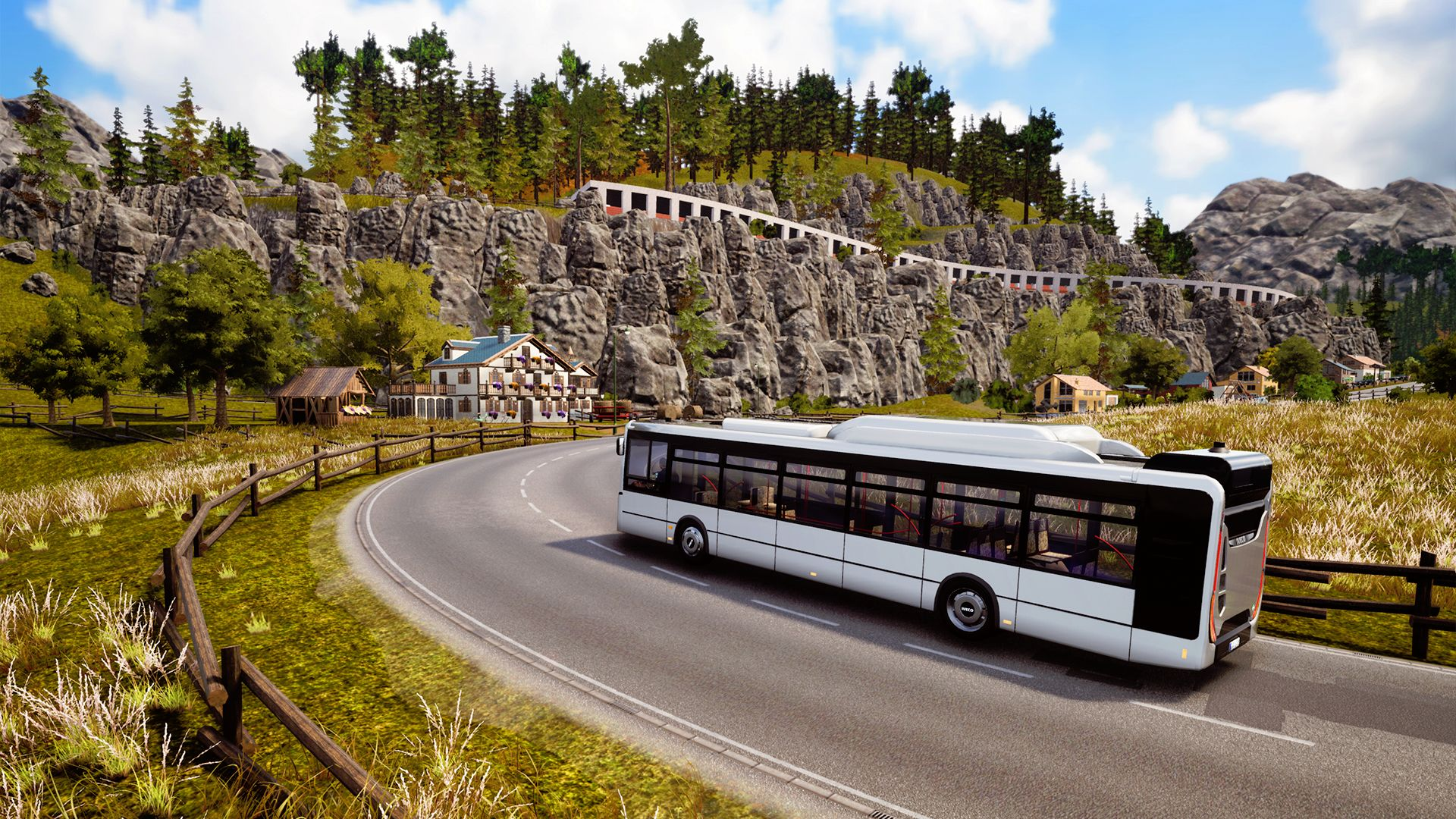 Bus Simulator 18: Official Map extension