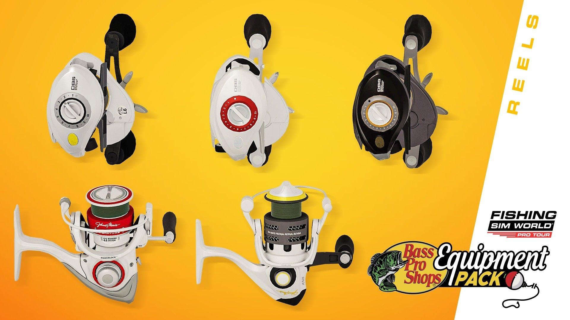 Fishing Sim World: Pro Tour - Bass Pro Shops Equipment Pack