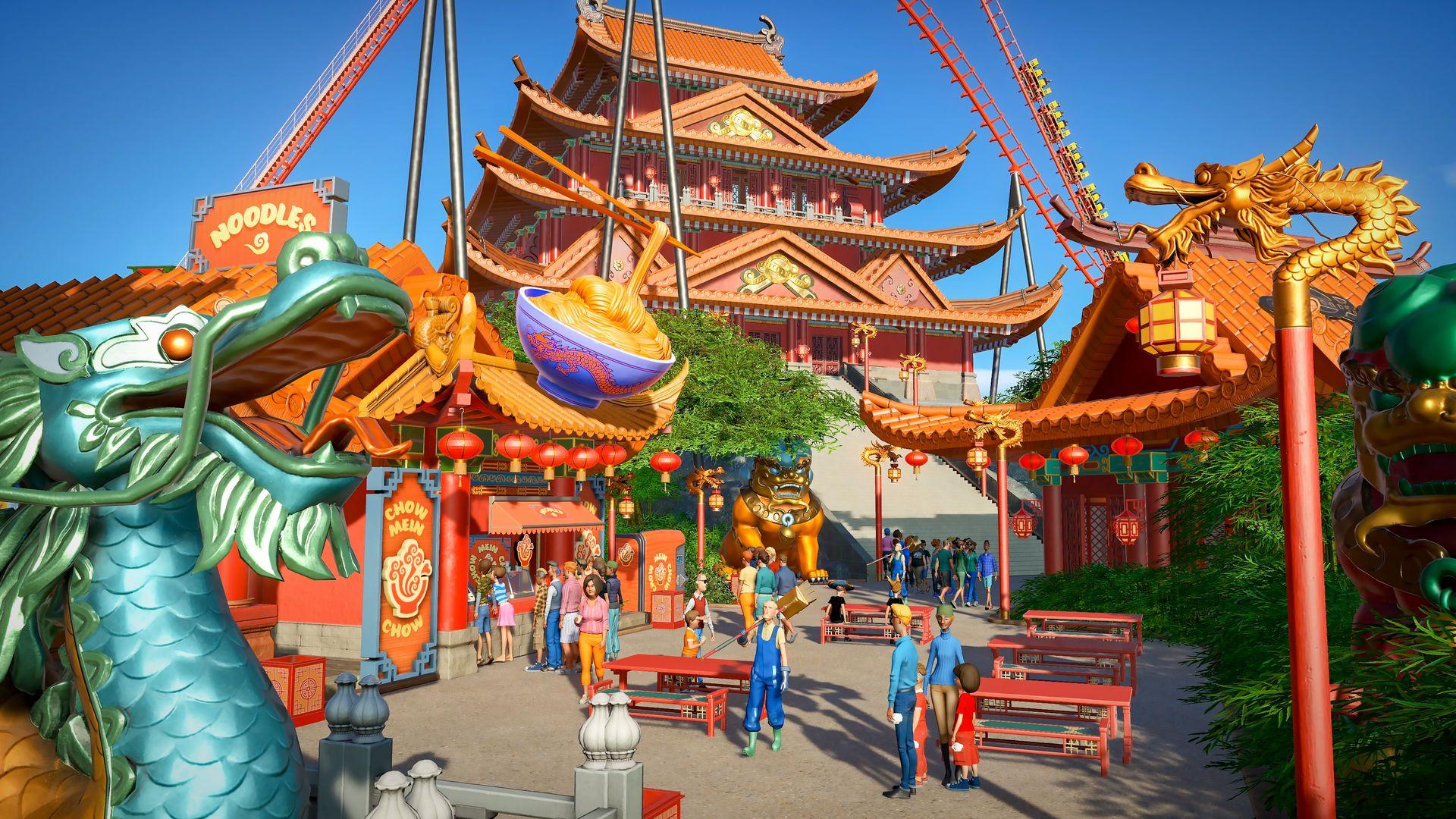 Planet Coaster - World's Fair Pack