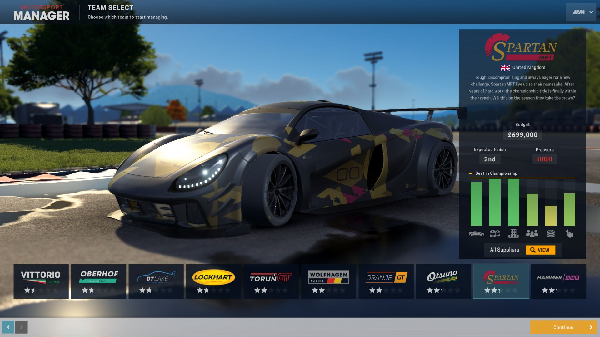 Motorsport Manager: GT Series