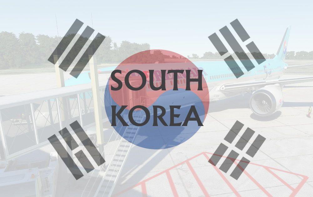 MSFS South Korea Airports