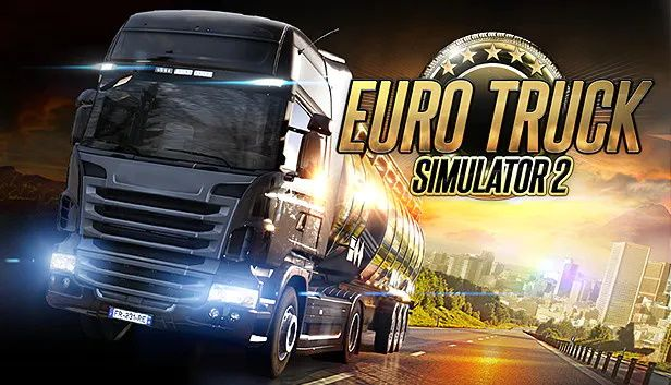 Clickable image taking you to the Euro Truck Simulator 2 directory at DPSimulation