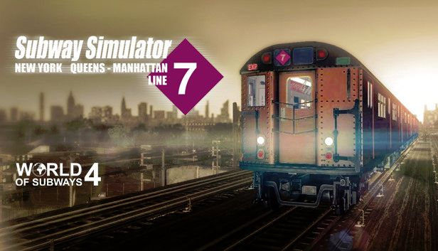 World of Subways:  New York Line 7