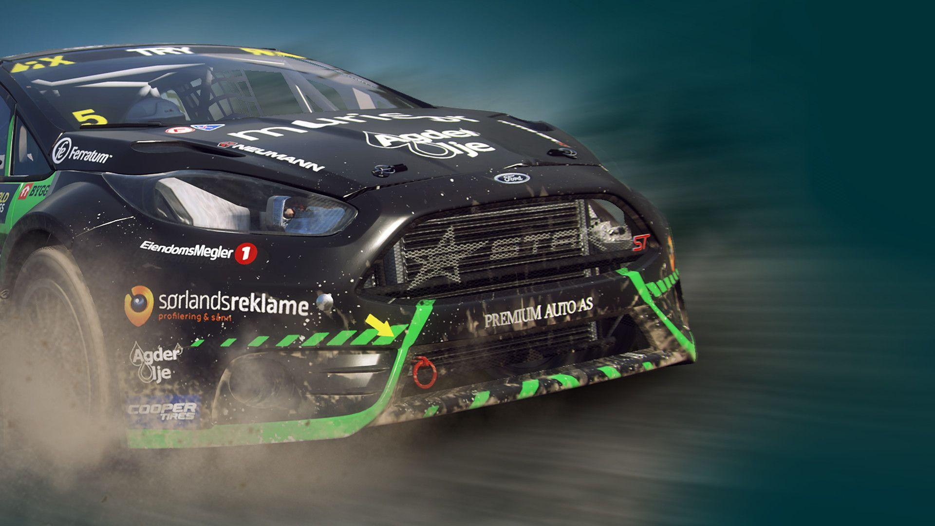 DiRT Rally 2.0 - Ford Fiesta Rallycross (STARD)