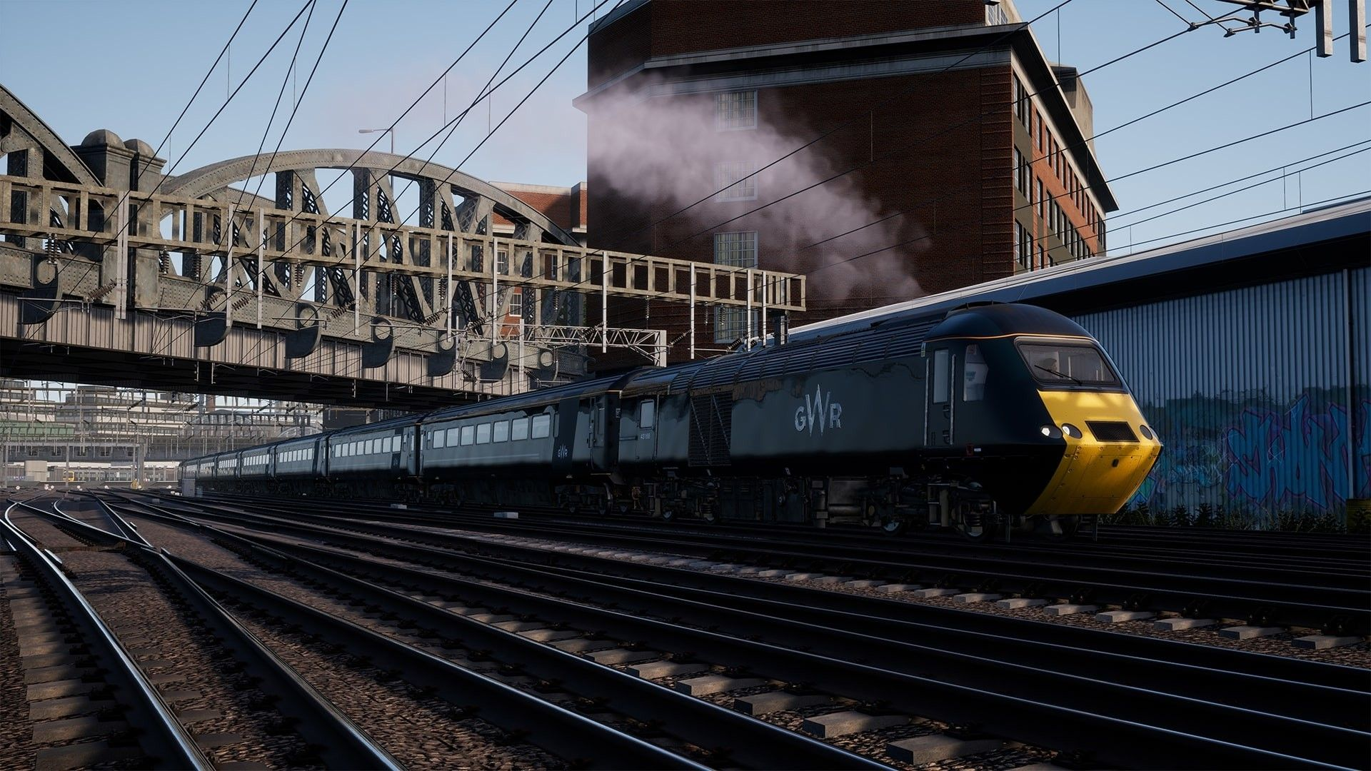 Image showing screenshot of the Great Western Main Line route in Train Sim World