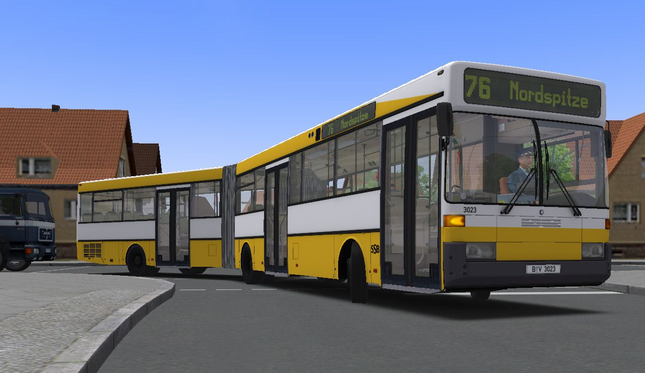 OMSI 2 Add-On Citybus O405/O405G