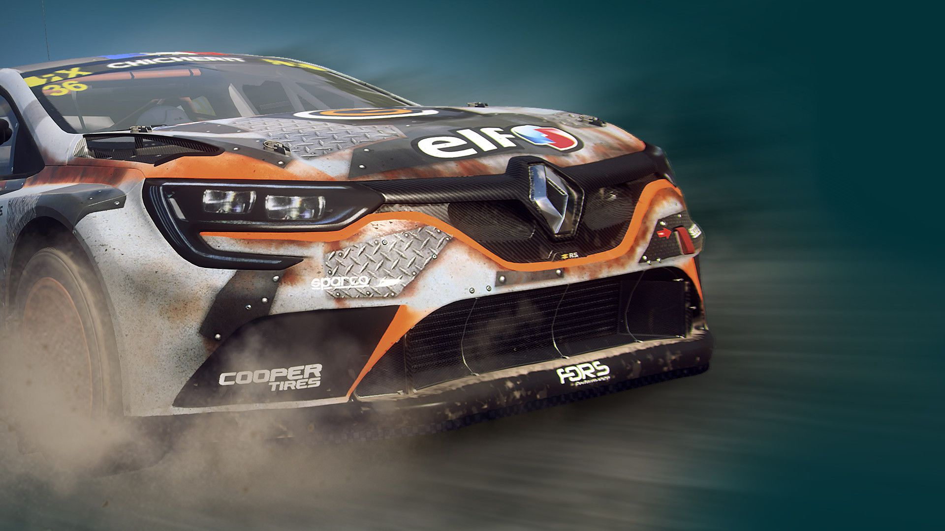 DiRT Rally 2.0 - Renault Megane R.S. RX