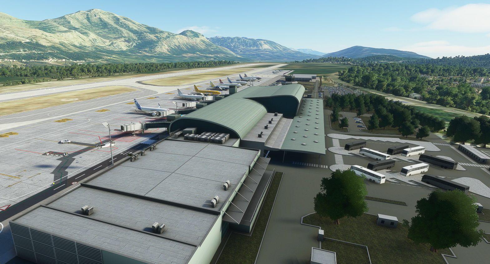 MSFS LDDU Dubrovnik Airport