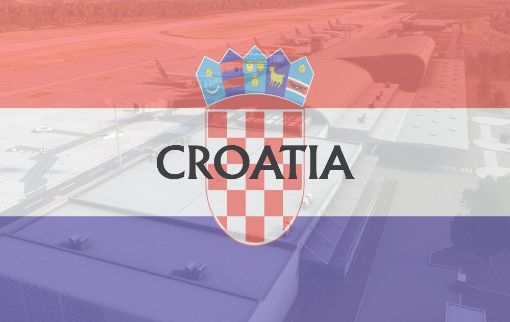 MSFS Croatia Airports