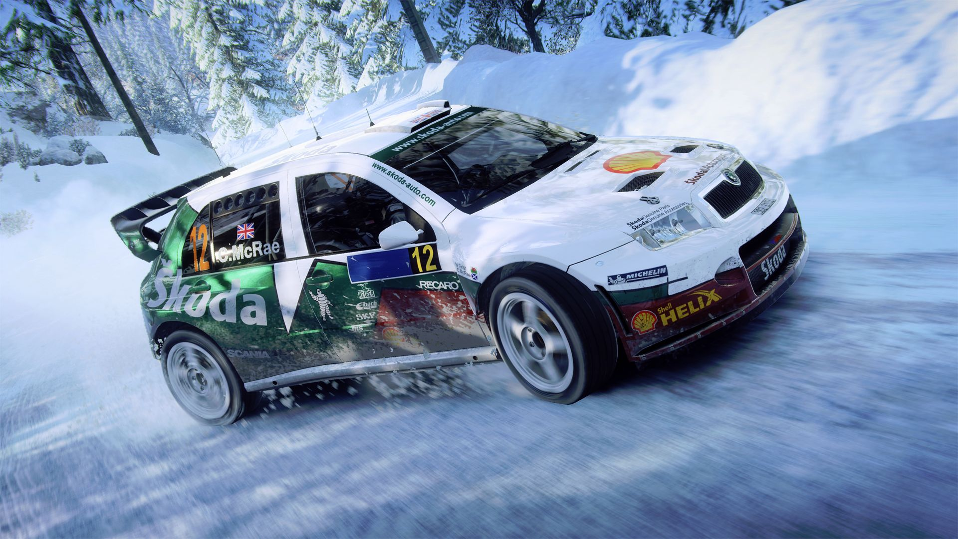 DiRT Rally 2.0 - ÅKODA Fabia Rally