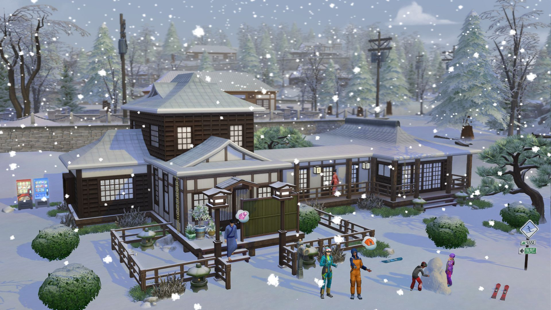 "The Simsâ""¢ 4 Snowy Escape Expansion Pack"