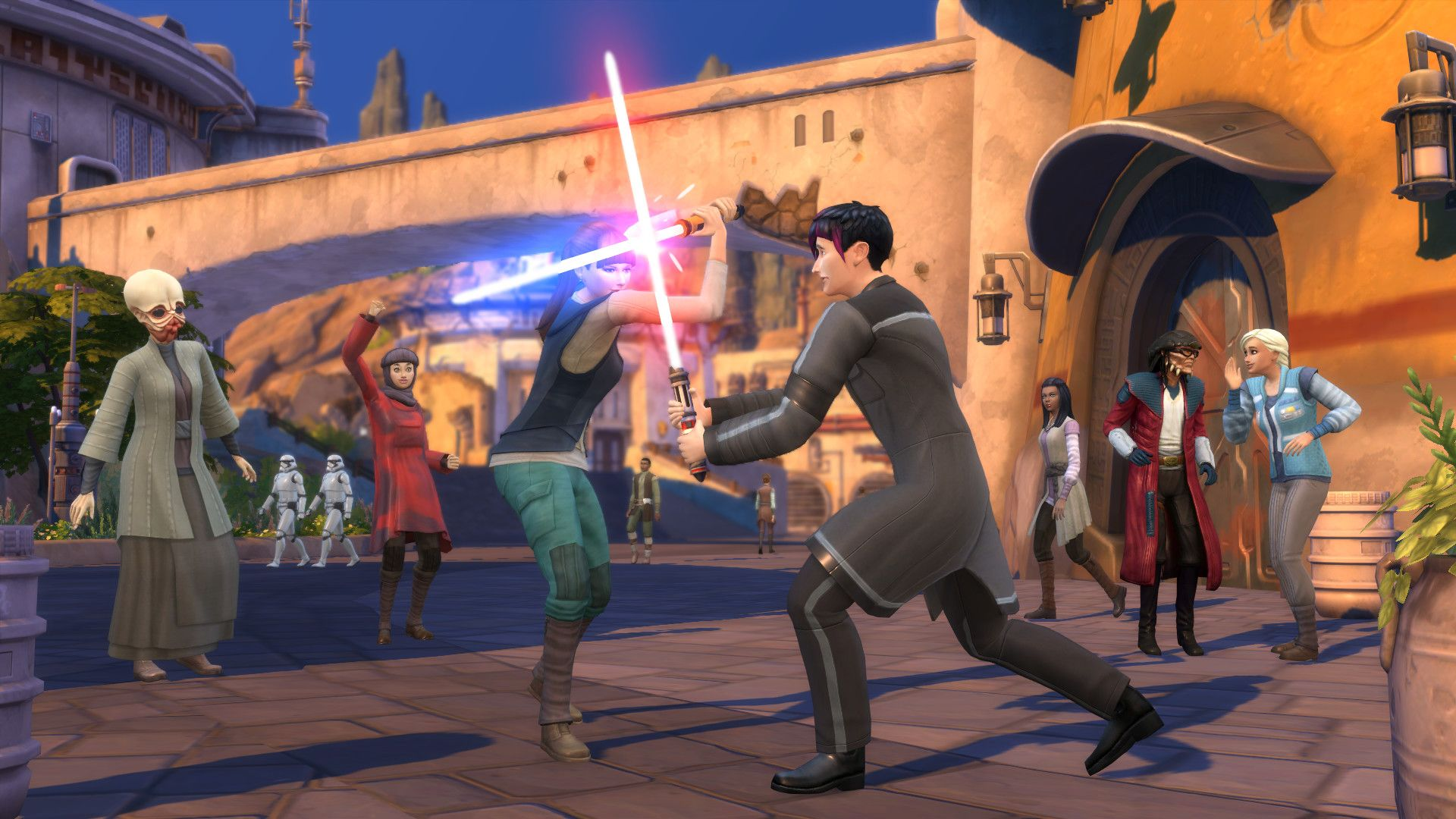 "The Simsâ""¢ 4 Star Warsâ""¢: Journey to Batuu Game Pack"