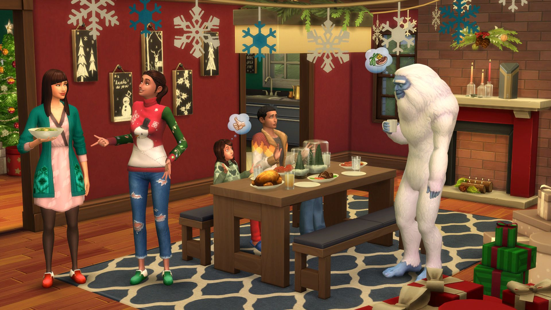 "The Simsâ""¢ 4 Holiday Celebration Pack"