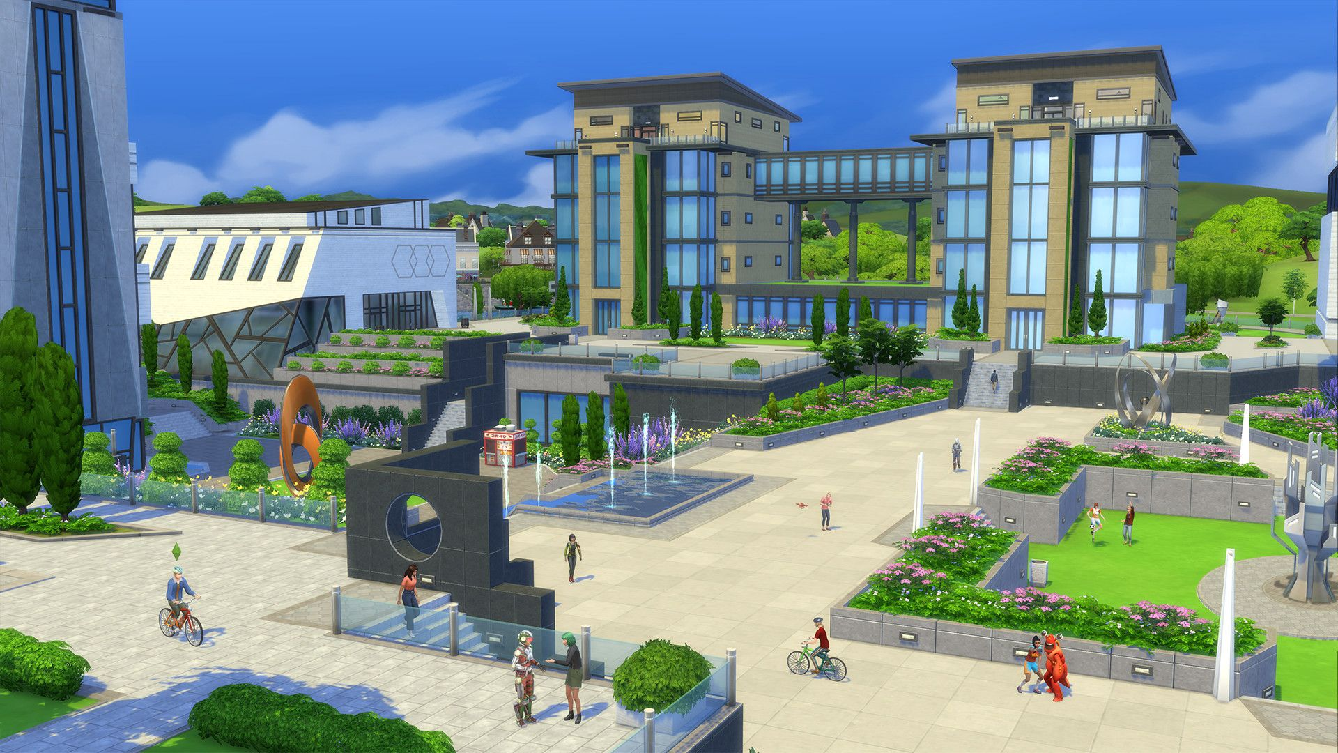 """The Simsâ""""¢ 4 Discover University"""
