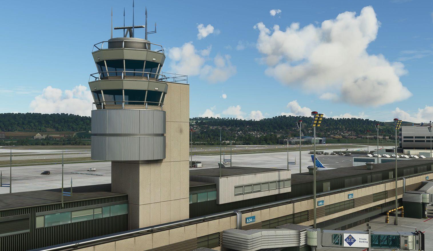 MSFS LSZH Zurich Airport