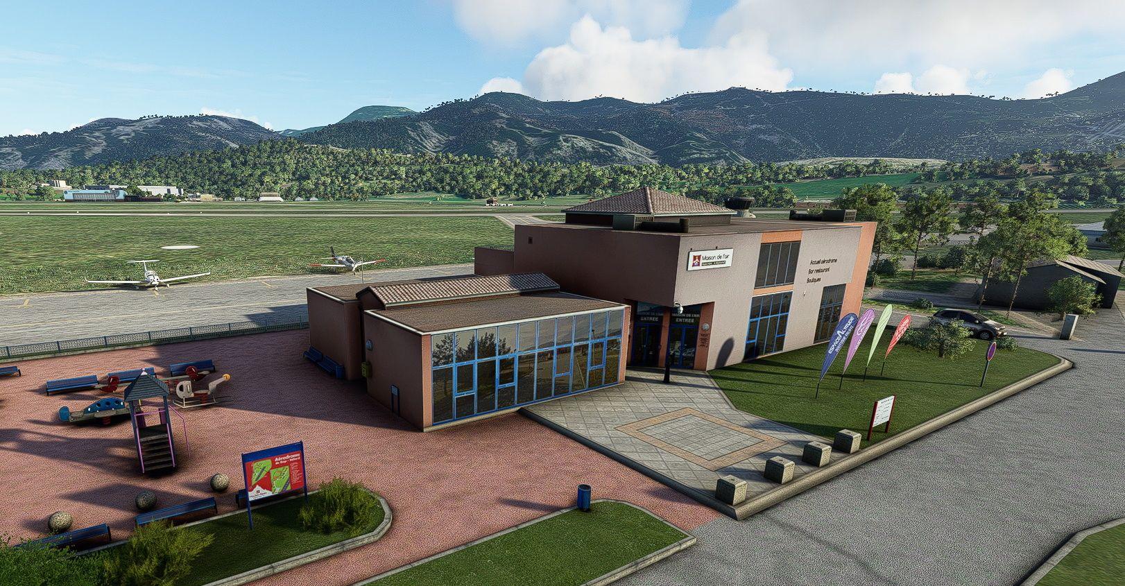 MSFS LFNA Gap - Tallard Airport