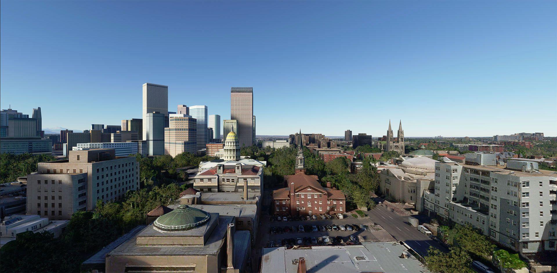 MSFS Denver Photogrammetry