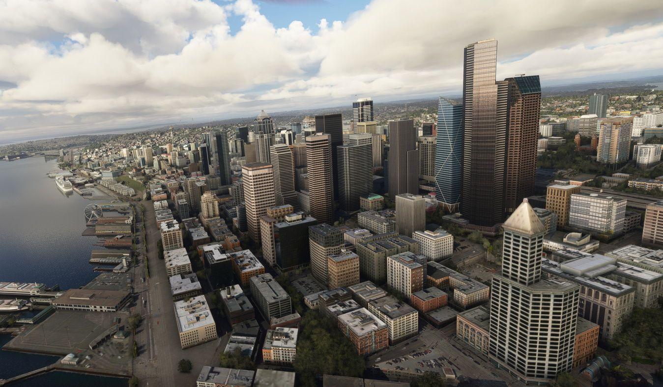 MSFS Seattle Landmarks