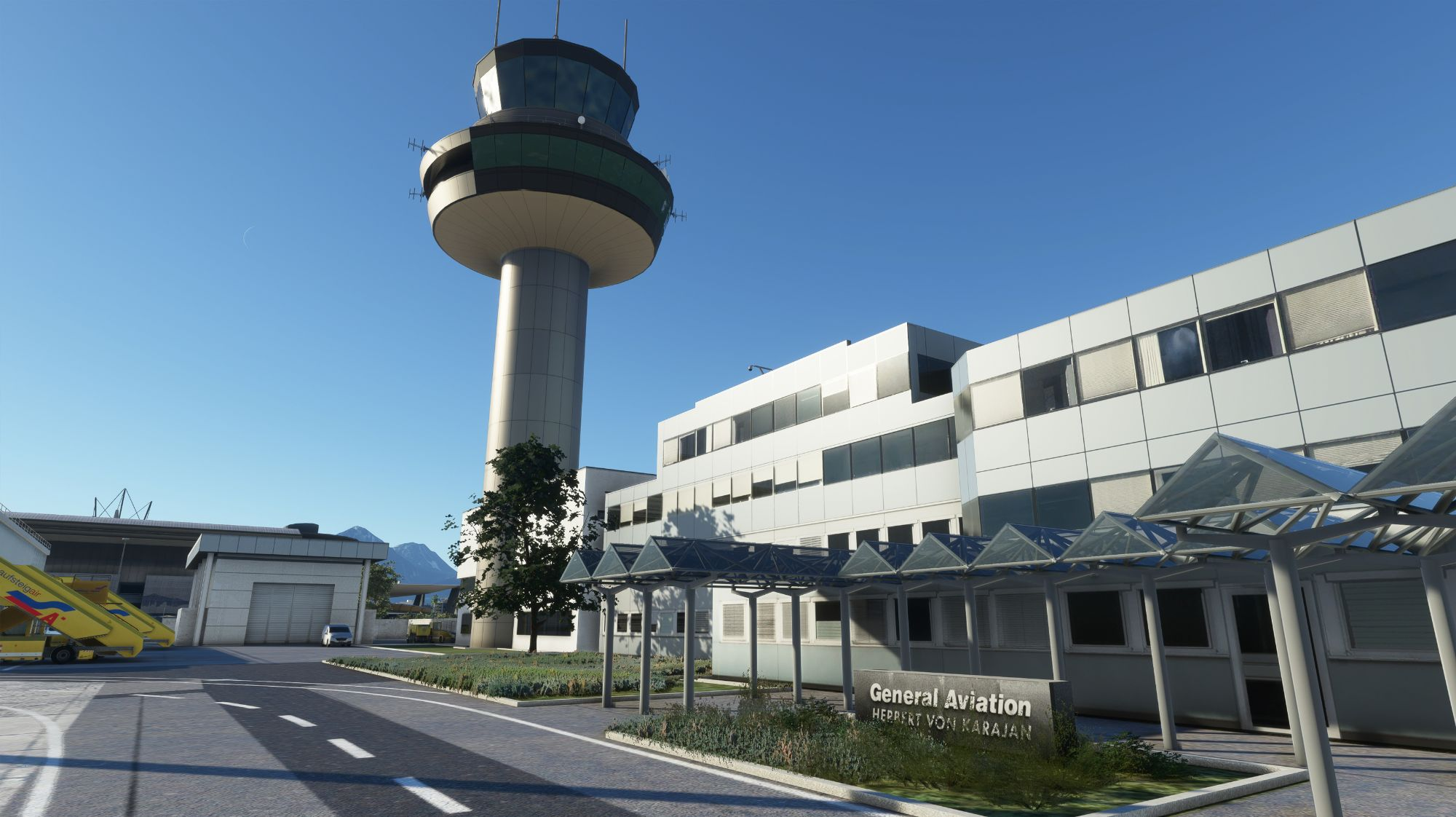 MSFS LOWS Salzburg Airport