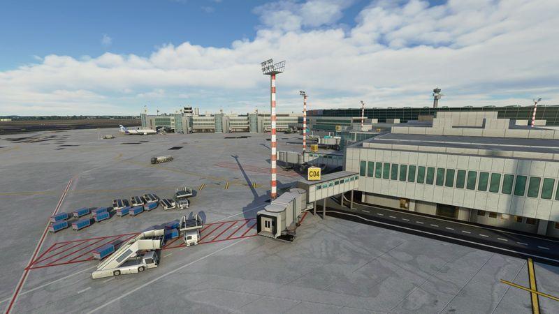 MSFS EDDL: Düsseldorf Airport
