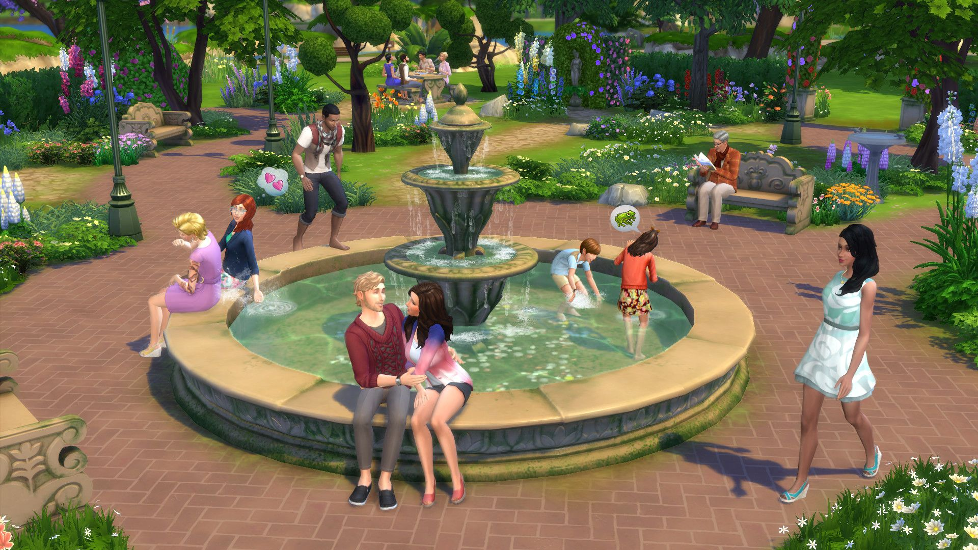"The Simsâ""¢ 4 Romantic Garden Stuff"