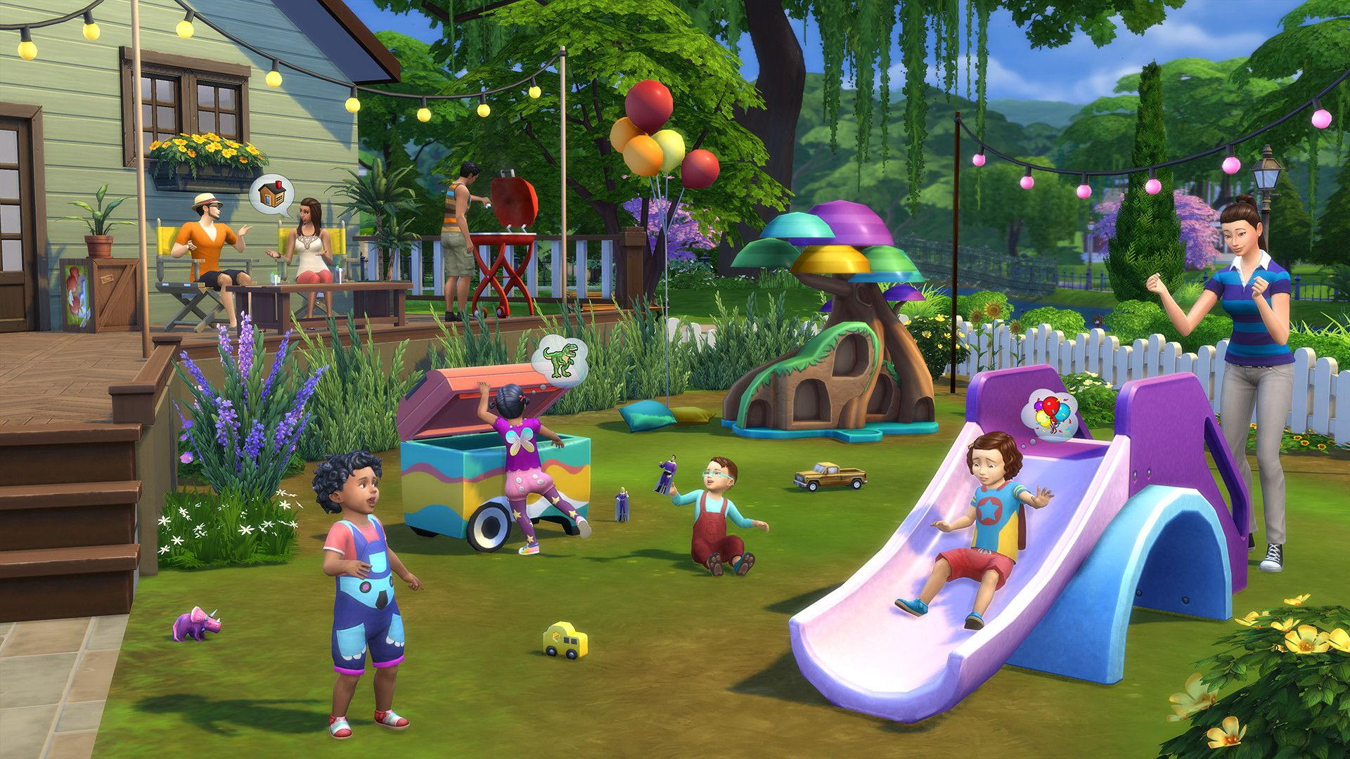 "The Simsâ""¢ 4 Toddler Stuff"